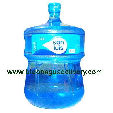 Bidon de Agua de Mesa San Luis 20 litro retornable