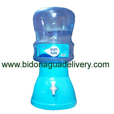 Dispensador o Surtidor + Envase + Agua San Luis 20 litros