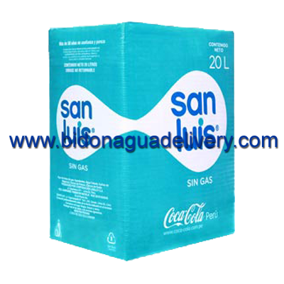 Caja de agua San Luis 20 lt descartable con caño